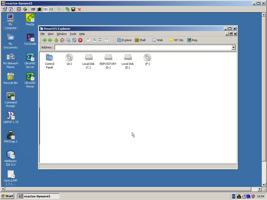 Contributions: UltraVNC 1 0 5 | ReactOS Project